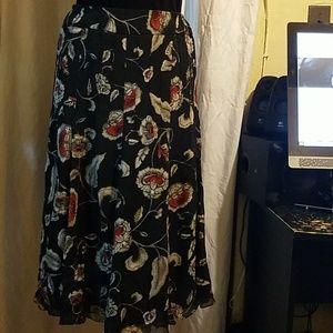 Jones NY flare skirt